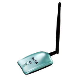 AWUS036NH Alfa Network USB wireless scheda di 2.000 mW e 5 dBi antenna
